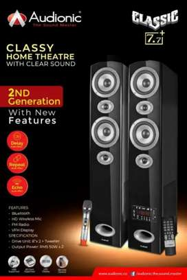 Audiounic 7,7 classic home theater system