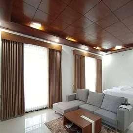 Gorden dan Wallpaper Desain Minimalis Rumah Kantor Hordeng KordenGorde