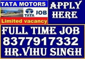 TATA MOTORS Company full time job store keeper helper supervisor