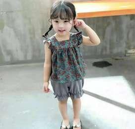 Baju anak Import perempuan 1 - 2 Tahun