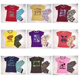 Export Brand HALF SUIT Export summer stocklot wholesale garments t-shi