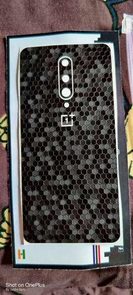 One plus 8 Back panel 3M protection with Matrix style
