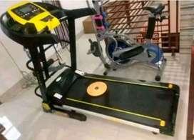 Alat fitness//Treadmill Listrik 4in1//bergaransi//autoincline
