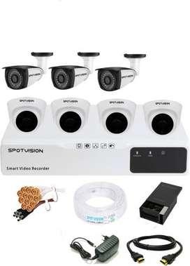 7 HD CCTV setup installation