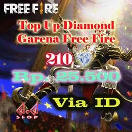 TOP UP GARENA FREE FIRE
