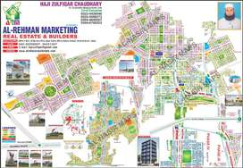 110/Eastren plot for sale in bahria orchard LHR