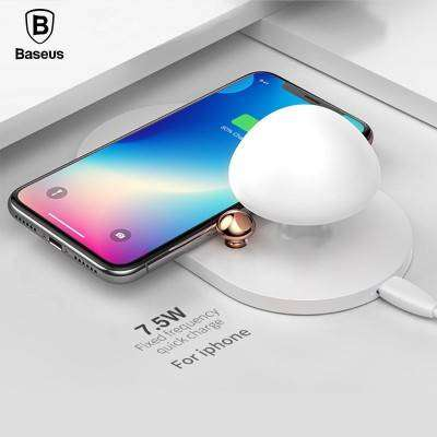 Baseus mushroom lamp Desktop wireless charger White 0
