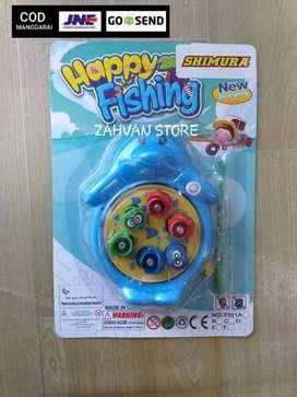 Mainan Pancing Ikan Putar Isi 6 Pcs