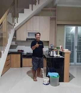Harga Borongan tenaga tukang Kitchen Set Minimalis PerMETER