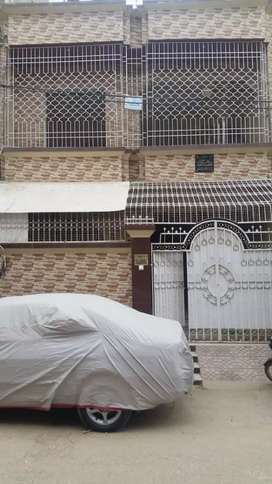 Sector 5-M north Karachi 120 yards ground plus one house