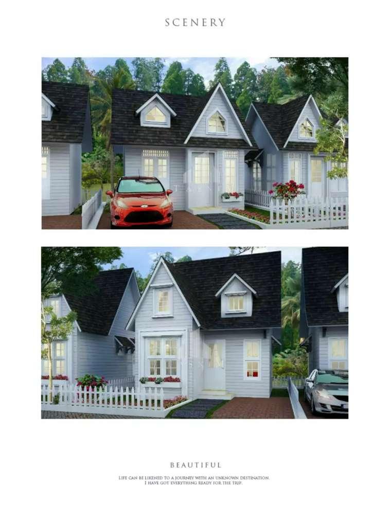 jual rumah baru konsep eropa harga terjangkau muraah.