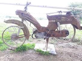 Vintage Victoria Vicky moped
