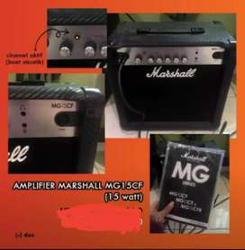 Amplifier Marshall MG15CF (15 watt)