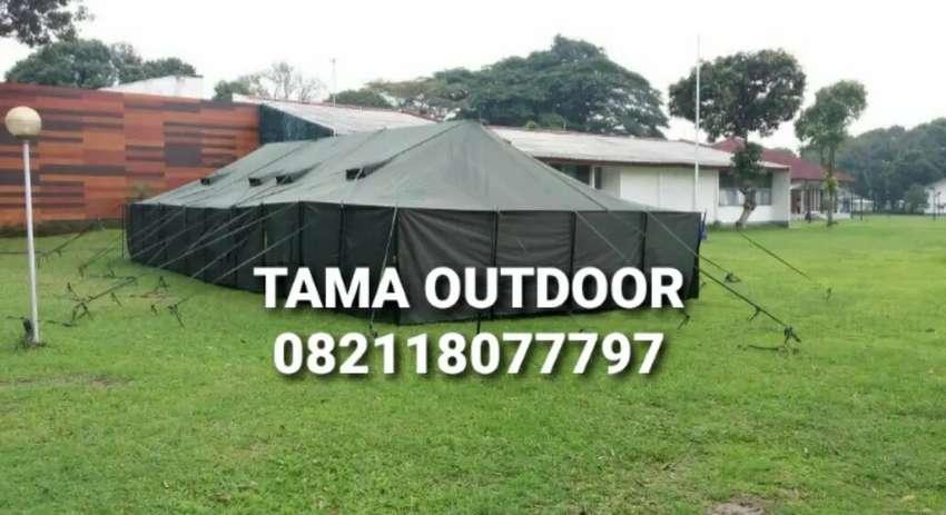 Tenda Regu Pleton - Peleton Pengungsi Kesehatan Bantuan Sosial