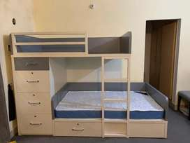 Bunk double bed (Imported quality) for Adults and kids