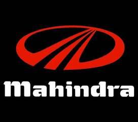 NEW JOB OPENING FOR MAHINDRA COMPANY