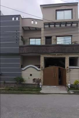 5 marla double portion house in phase 1 ,mehria town.