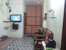One BHK with semifurnished good for small family. Sun shine Balcony.