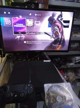 Console PlayStation4 PS4 Fat 500 Gb free 2 game ,garansi
