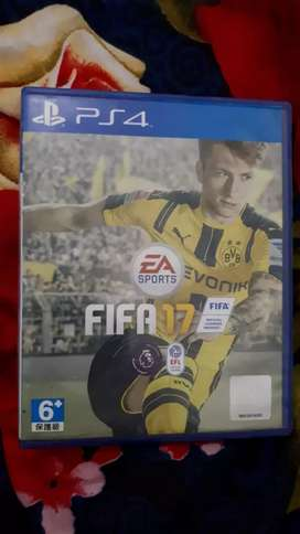 Kaset Ps4 FIFA 17
