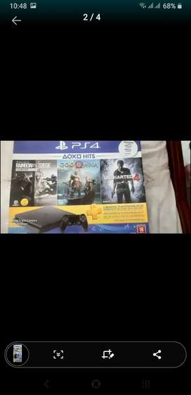 PS4 GAME 500GB
