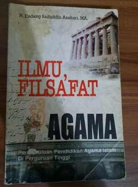 Buku ilmu filsafat karya H Endang Saifuddin Anshari, MA.