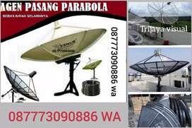 Harga order pasang parabola Venus HDMI lengkap gratis install murah