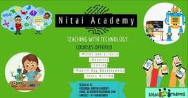 Nitai Academy_Online teaching using technology