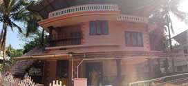 Double storied 6 bed room house for rent near Amala medical college
