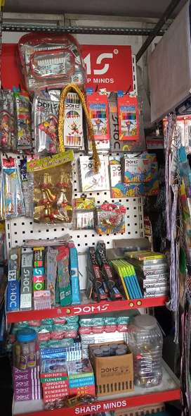 Note books, text books, guides, craft materials,project items