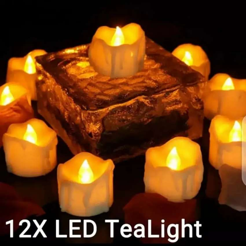 Pack of 12 Led candle
