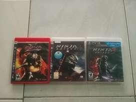 Bd ps3 ninja Gaiden trilogy