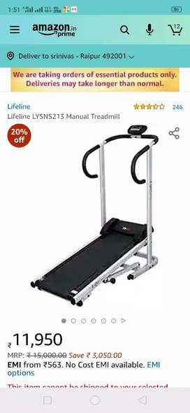 Lifeline Manual tredmill