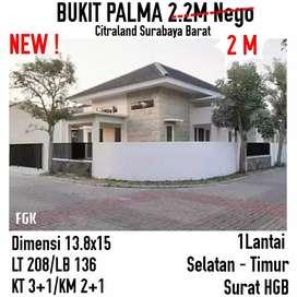 Bukit palma citraland Surabaya barat turun harga hook cantik
