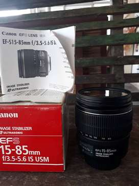jual Lensa Canon EF-S 15-85 mm IS USM