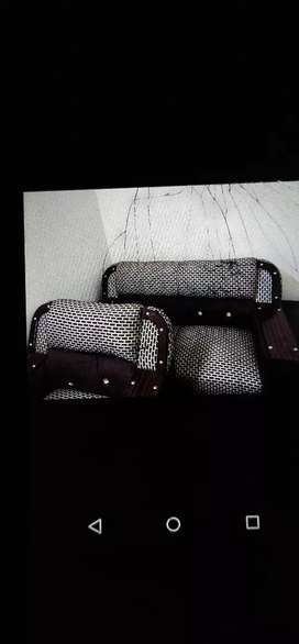 Sofa set 6 seater only 2 month use new condition