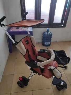 Stroller Baby Elle Wave Ada tas