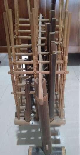 Dijual 1 buah Angklung Bambu Original Angklung Mang Udjo Bekas
