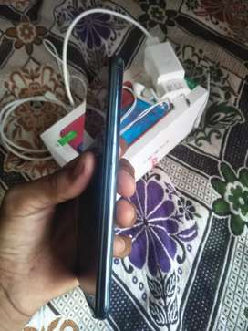 Oppo f9pro 6 128gb new condition with box and vock charger