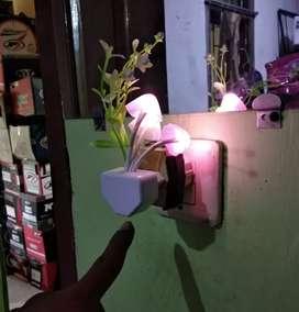 Lampu tidur/lampu kamar/LED/sensor cahaya/auto light
