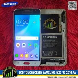 Lcd Touchscreen Samsung J320 J3 2016 AAA