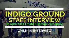 Urgent hiring for ground staff