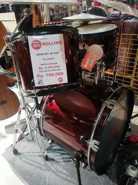 Rolling Drum Set Jb1026 Bisa Di Kredit 0% Tanpa CC