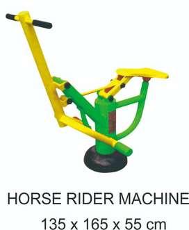 Horse Rider Machine Alat Fitness Outdoor Termurah Garansi  1 Tahun