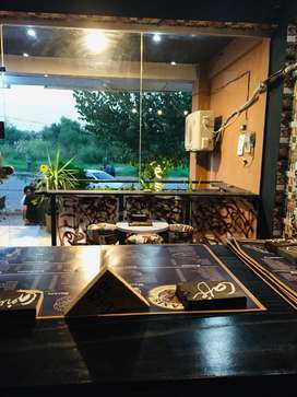 Newly established & Operational Running Fast food Cafe for sale