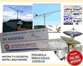 Agen toko murah Instalasi pasang parabola dan antena TV digital