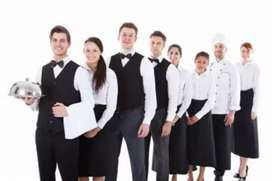 Urgently require boys and girls for catering work
