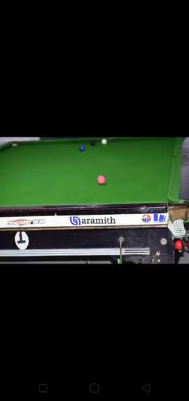 Snooker 6/12 full size  fixed price