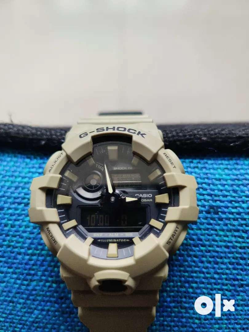 Unused Casio G-shock GA 700 watch worth 5900 INR for sale