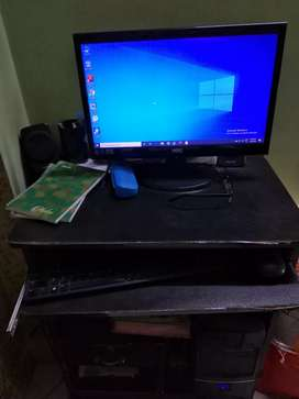 Computer with TFT.